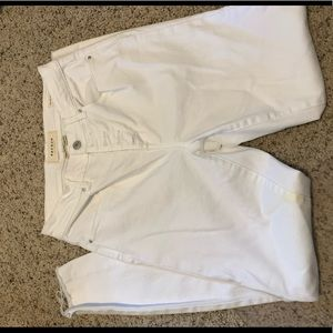 white pacsun high rise jegging